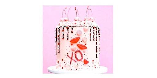 Valentine's Drip Cake