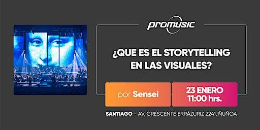 ¿Que es el StoryTelling en las visuales?