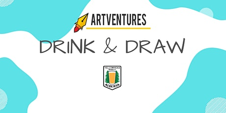 ArtVentures Drink & Draw: Textured Ink Drawing tickets