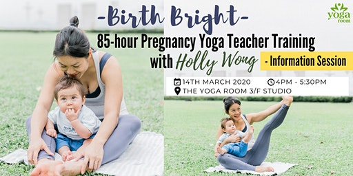 85-hour Pregnancy Yoga Teacher Training with Holly Wong – Info Session
