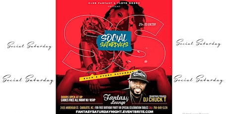 Social Saturday @ Fantasy Lounge RSVP Guest list tickets