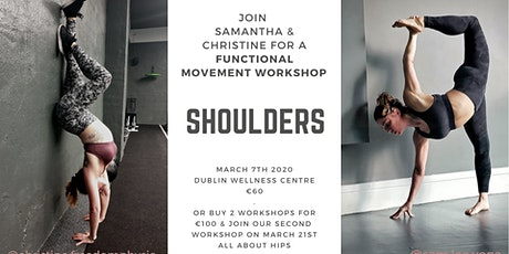 Shoulder Stability - A Functional Movement  and Yoga Workshop tickets