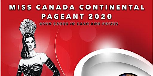 Miss Canada Continental 2020