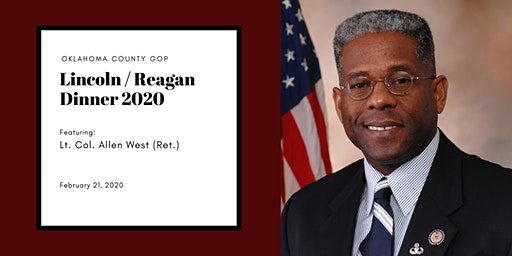 Lincoln/Reagan Dinner  with Lt. Col. Allen West( Ret.)