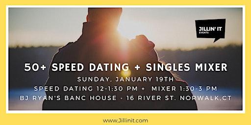 50+ Speed Dating + Singles Mixer