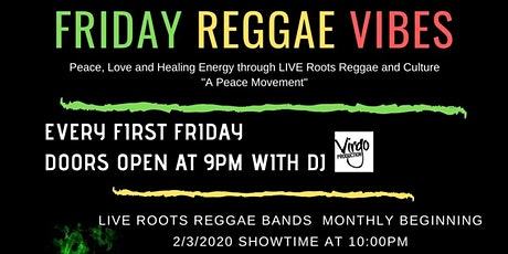 Friday Reggae Vibes 2020 tickets