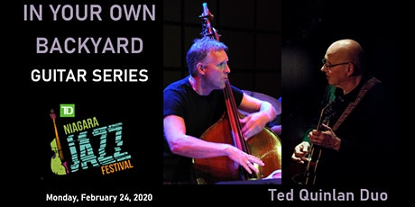 """In Your Own Backyard"" Guitar Series, Part Two: Ted Quinlan tickets"