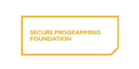 Secure Programming Foundation 2 Days Training in Vienna Tickets
