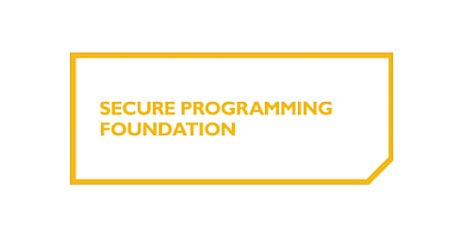 Secure Programming Foundation 2 Days Virtual Live Training in Vienna tickets