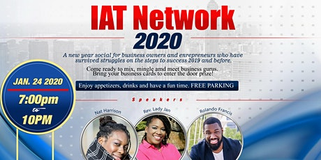 IAT Network 2020: A social for Business owners and Entrepreneurs tickets
