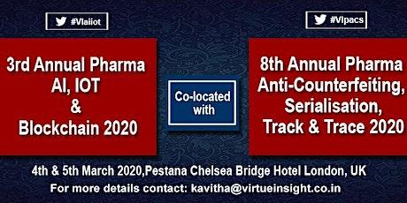 3rd Annual Pharma AI, IoT & Blockchain 2020 tickets