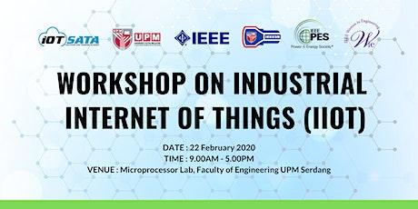 Workshop on Industrial Internet of Things (IIOT) tickets