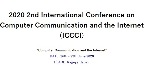 The 2nd International Conference on Computer Communication and the Internet (ICCCI 2020) tickets