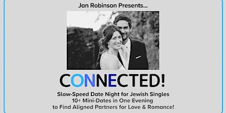 Slow-Speed Date Night for Jewish Singles ~ Berkeley (45-62yr) tickets