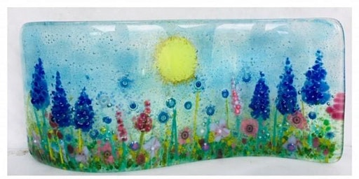 Fused Glass Floral Curve Workshop