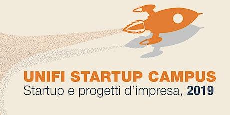 Unifi Startup Campus: startup e progetti d'impresa 2019 biglietti