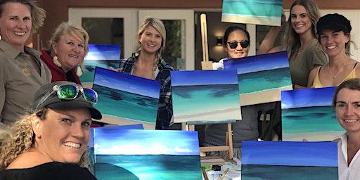 Paint the Ocean by the Ocean Leighton Beach