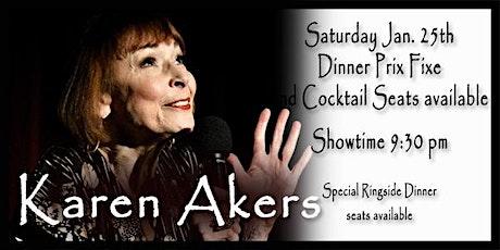 Karen Akers - 1/25 tickets