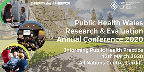 PHW Research & Evaluation Annual Conference 2020: Informing Public Health Practice tickets