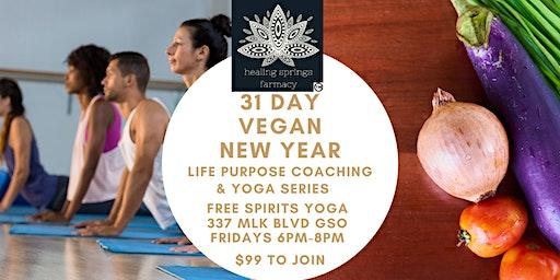 31 Day Vegan New Year Series