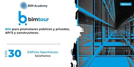 BIMtour: BIM para la Fase de Promoción Inmobiliaria y Construcción entradas