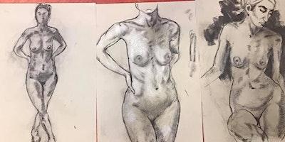 Long Pose Life Drawing – Saturday, 11th July 202