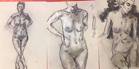 Long Pose Life Drawing – Saturday, 11th July 2020 tickets