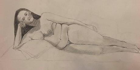 Long Pose Life Drawing – Saturday, 12th September 2020 billets