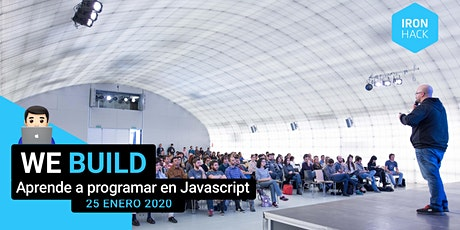 WE BUILD: Aprende a programar en Javascript un prototipo funcional entradas