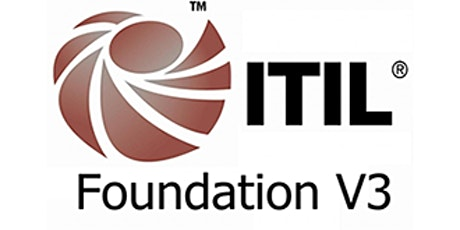 ITIL V3 Foundation 3 Days Training in Birmingham(Weekend) tickets