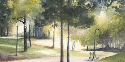2 Days: Watercolor Landscapes: From the Mountains to the Sea, Depth & Distance with Wendy Cunico