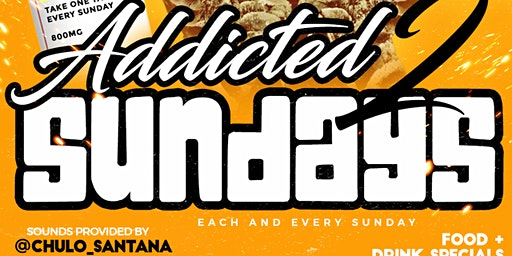 Addicted to Sundays Day Party @ Living Room 6p to 10p