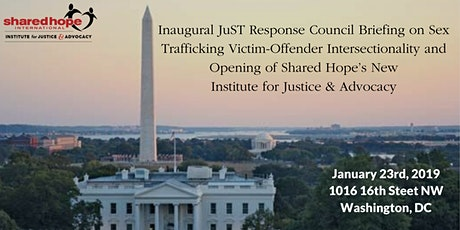 Sex Trafficking Victim Offender Intersectionality Report Release & Briefing tickets
