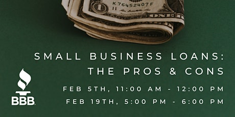 Small Business Loans: The Pros & Cons tickets