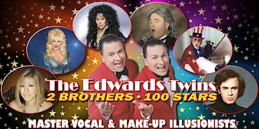Cher, Elton John, Bocelli, Streisand & More Vegas Edwards TwinsImpersonator