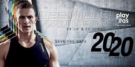"""Les Mills """"Open Parade"""" Fuerteventura tickets"""