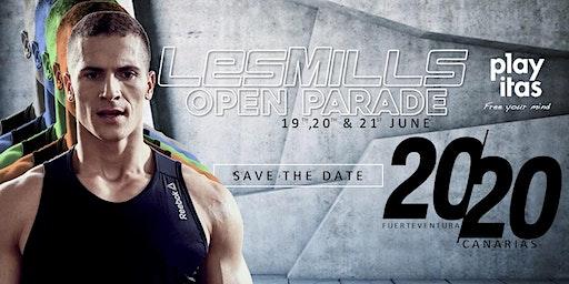 "Les Mills ""Open Parade"" Fuerteventura"