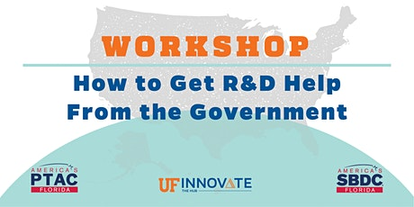 How to Get R&D Help  From the Government tickets