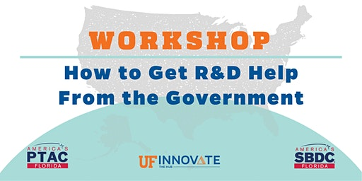 How to Get R&D Help  From the Government