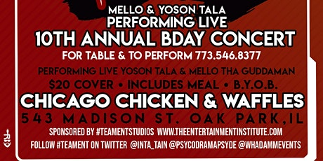 Inta Tain's BDay Concert 2020 tickets