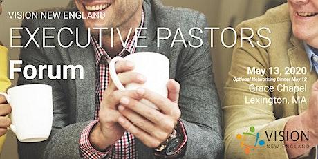 Executive Pastors Forum May 2020 tickets