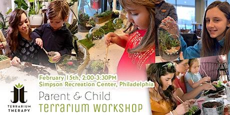Parent & Child Terrarium Workshop- Philadelphia tickets