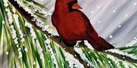 Cardinal In A Pine $30