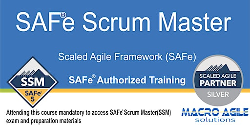 SAFe® Scrum Master with SAFe® 4 Scrum Master Certification-Cairo