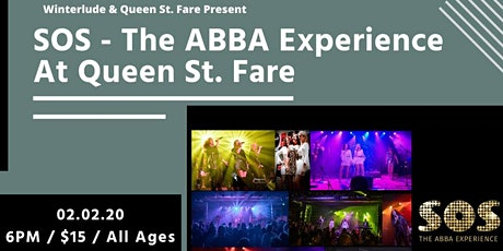 ABBA Tribute at Queen St. Fare tickets