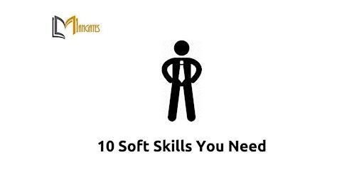 10 Soft Skills You Need 1 Day Training in Hamburg