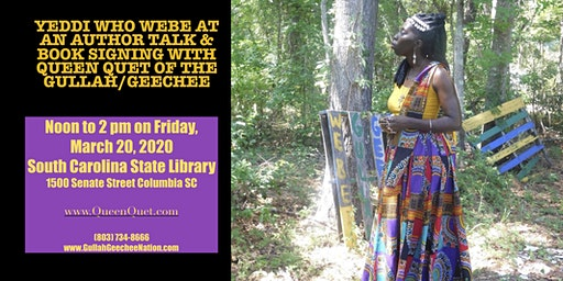 Queen Quet Gullah/Geechee Novel Duet Author Talk & Book Signing