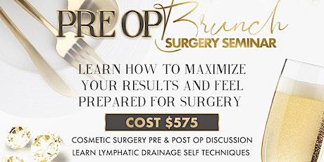 Pre Op Brunch: Surgery Seminar Baltimore tickets