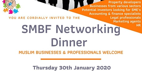 SMBF Networking Dinner tickets