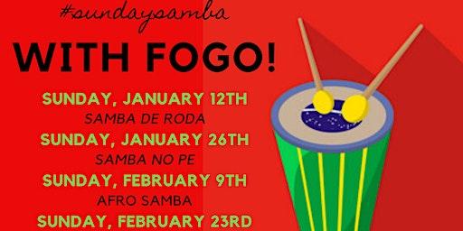 All Levels Samba Class with Fogo Brasil!